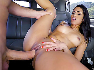 Vienna Black in Latina Go Getter Gets What She Deserves - BangBus