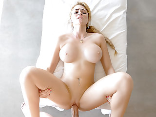 Skyla Novea in Busty Blonde Masseuse - PassionHD