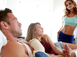 Ashley Sinclair & Jillian Janson in Sweet Release - MomsTeachSex