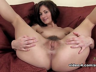Amazing pornstar in Fabulous Solo Girl, Hairy porn movie