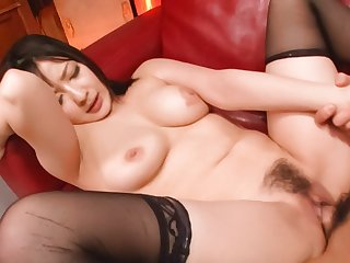 Fabulous Japanese slut Megumi Haruka in Incredible JAV uncensored Hardcore video