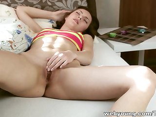 Hottest pornstar in Exotic Brunette, Masturbation xxx video